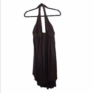 Rachel Pally Pam Brown Halter Dress Size XS